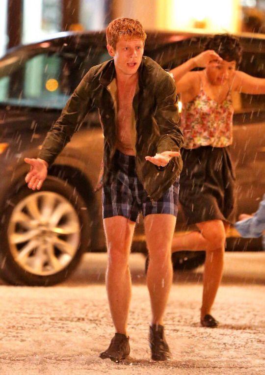 James Norton sur le tournage de Flatliners - August 2016