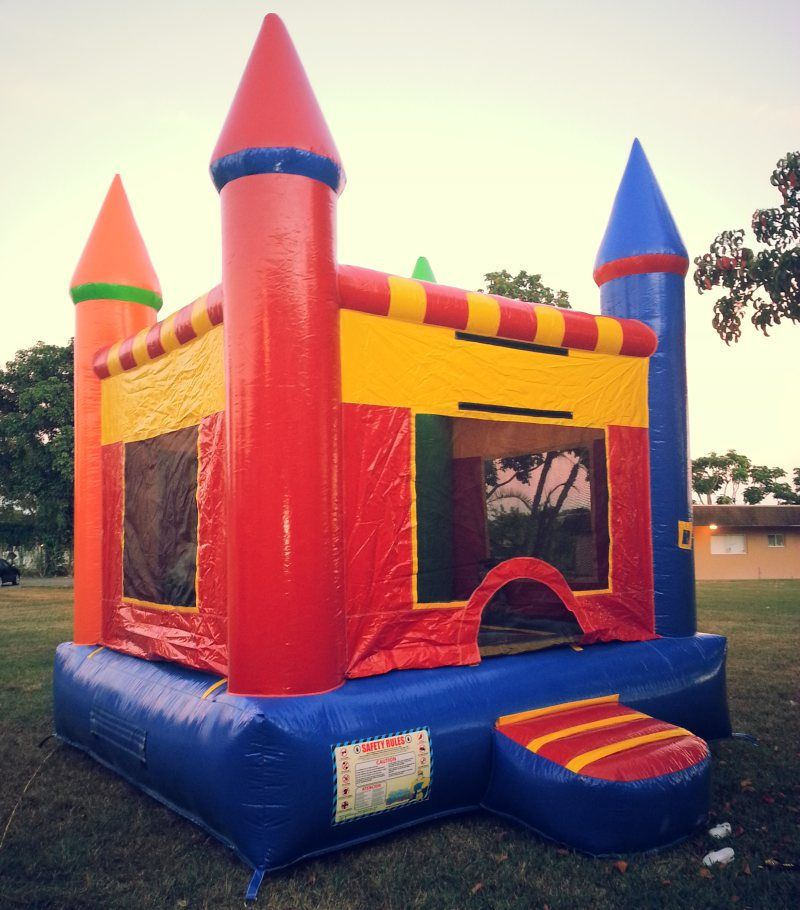 Castle Bounce House Miami Party Rental Things that