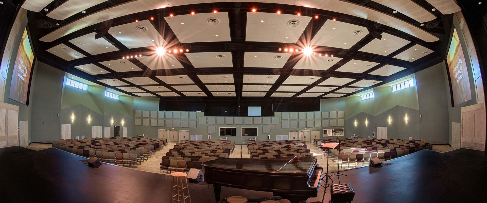 1000 seat contemporary worship space 1000 seat