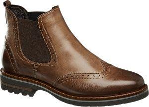 Ladies 5th Avenue Cognac Ankle Boots | Deichmann