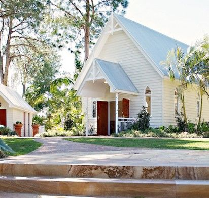 Our Gold Coast Wedding Chapel Beautiful Gardens Will Give You A Magical Feeling Filled With Nostalgia From Bygone Era Venue Marquee And