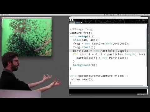 11 1: Capture and Live Video - Processing Tutorial - YouTube