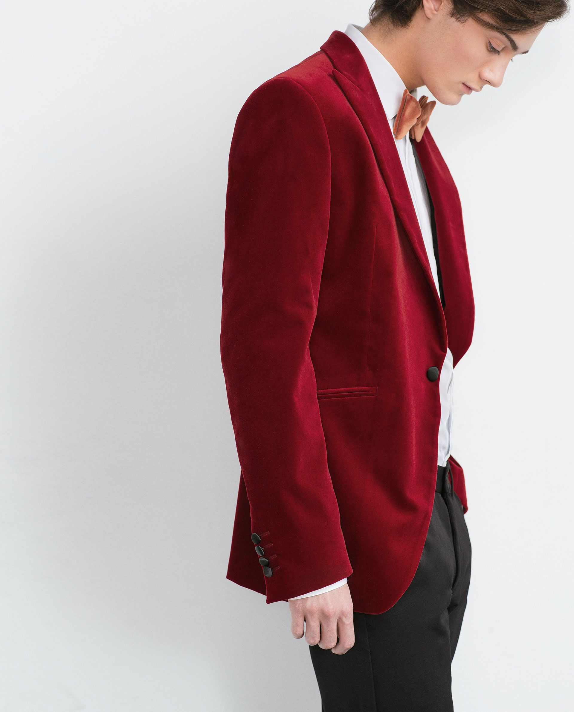 ZARA Man Winter 2015 (With images) Fashion, Red