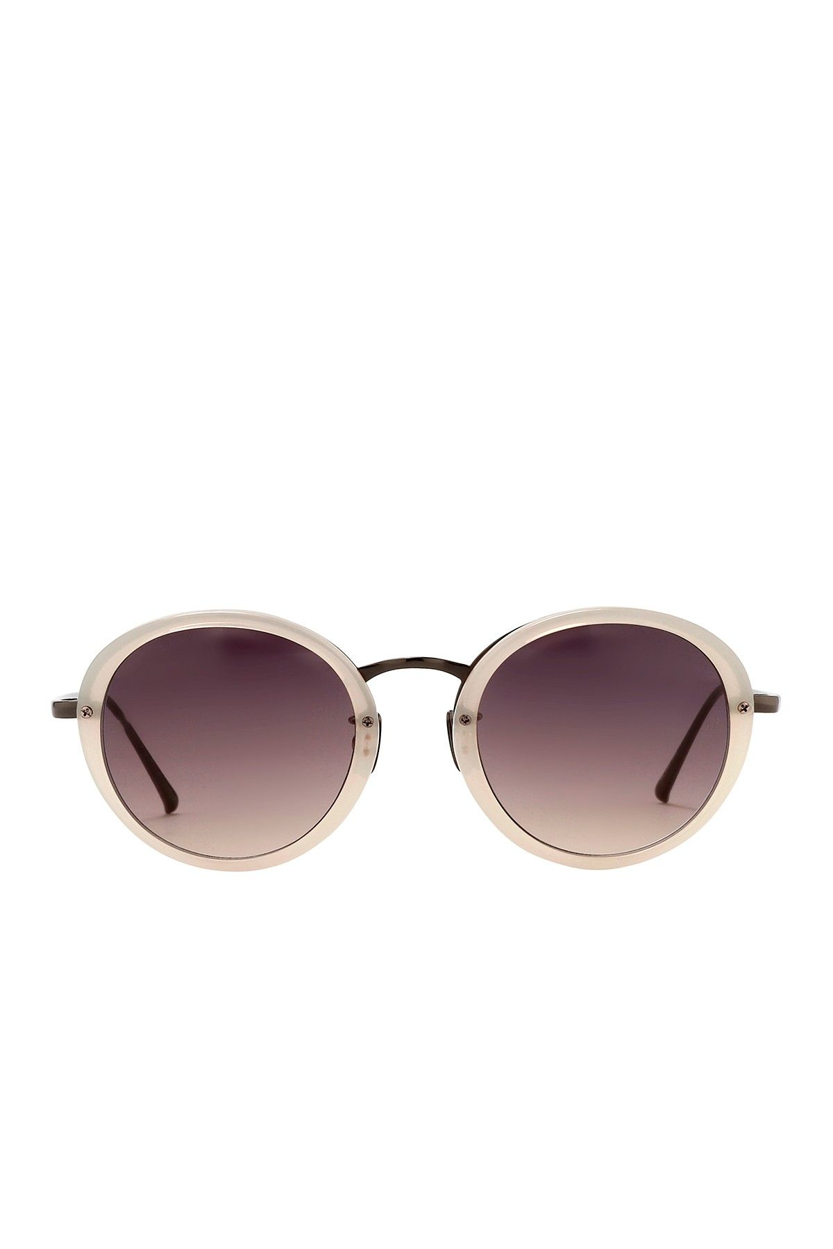 38605bd5d48f Linda Farrow - Women s Purple Acetate Sunglasses at Nordstrom Rack. Free  Shipping on orders over  100.