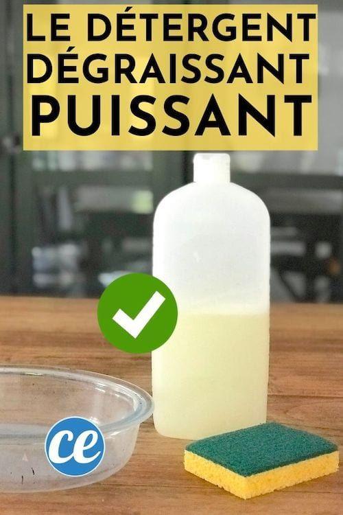 La Recette Facile Du Liquide Vaisselle Ultra Degraissant