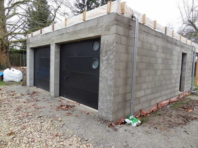 Construction Garage Toit Plat 1 Choosewell Co Plan Rraf