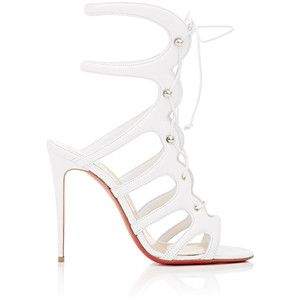 Cheapest cheap price Christian Louboutin Metallic Lace-Up Sandals cheap sale 2015 real online very cheap for sale DB4TmgN