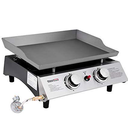 royal gourmet portable 2 burner propane gas grill griddle pd1201 rh pinterest com