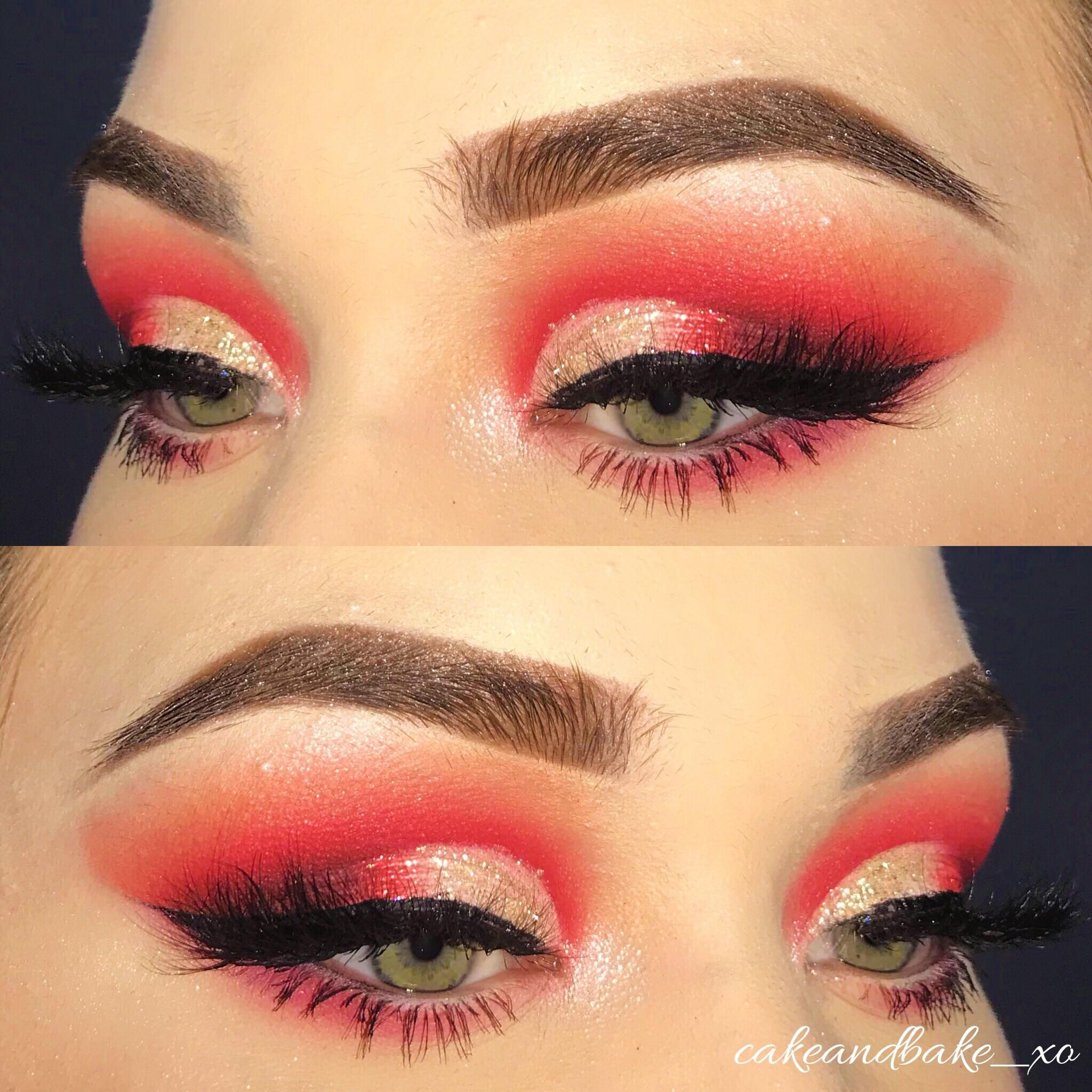 Love this look that I created using the Jeffree Star Blood