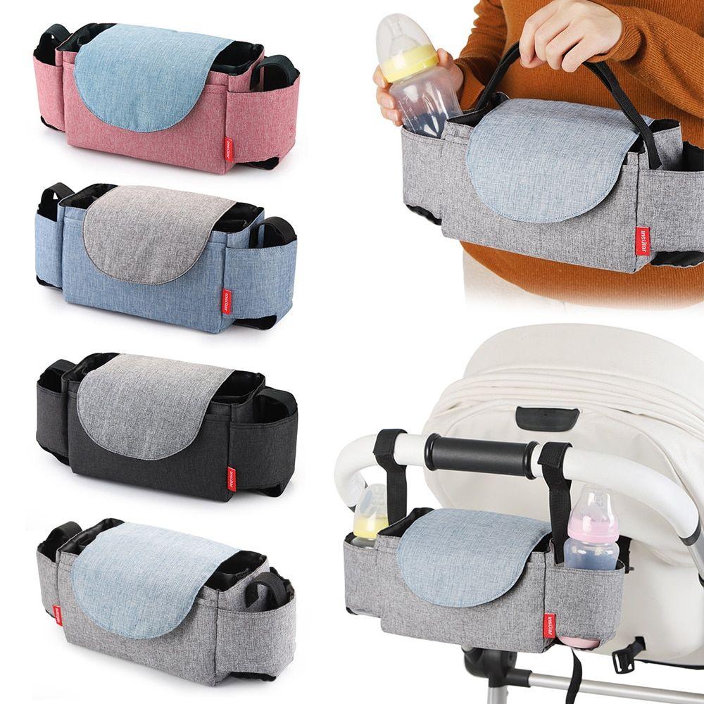Cup bag Baby Stroller Organizer Baby Carriage Pram Buggy Cart Bottle Bags DD
