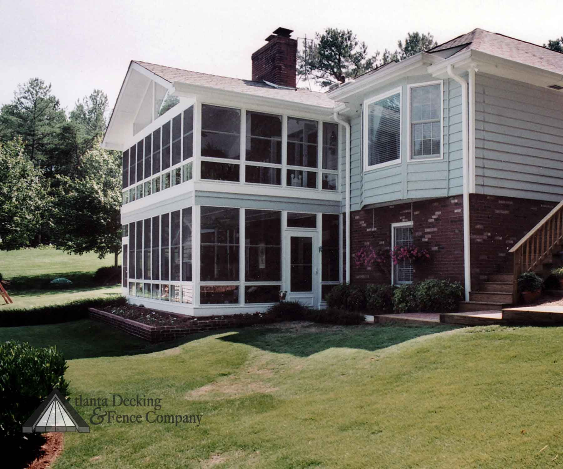 Two Story Decks And Porches Sunrooms Amp Porches