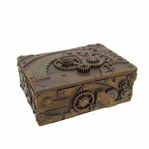 5 Steampunk Coffin Jewelry Box