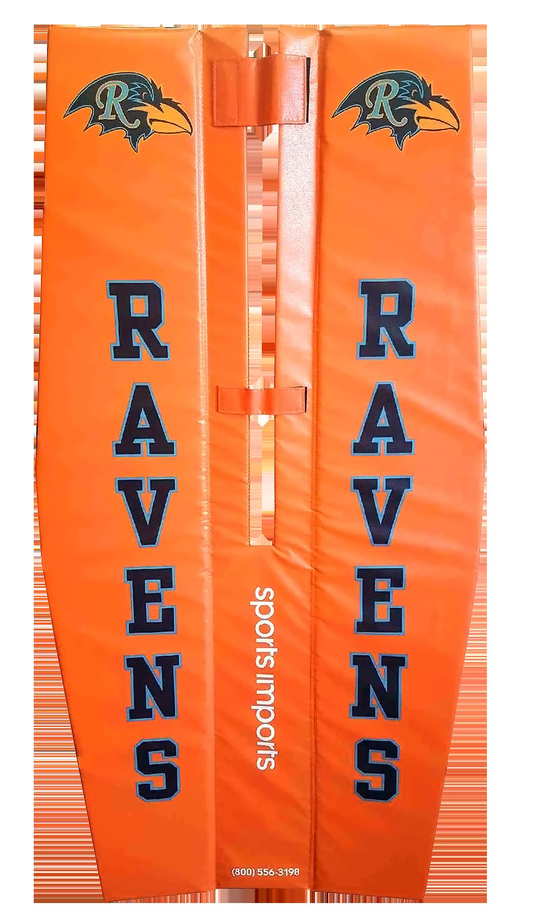 Ravens Custom Volleyball Pole Pads Custom Volleyball Pole