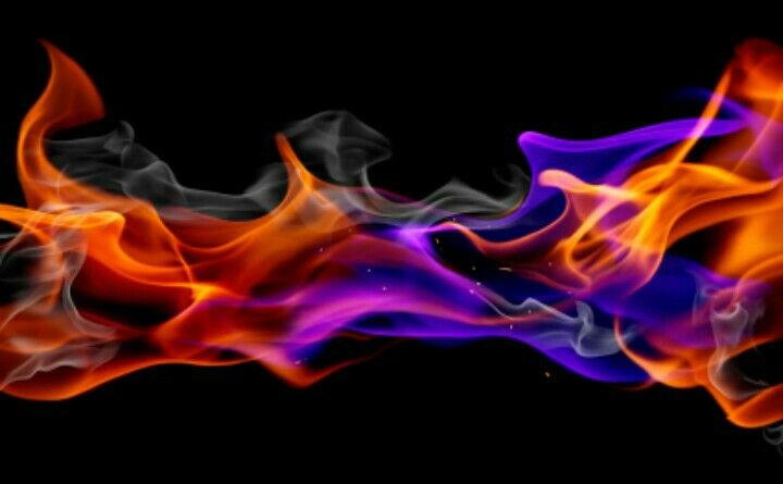 Coloured Flame Purple Flame Glitter Background Colors Of Fire
