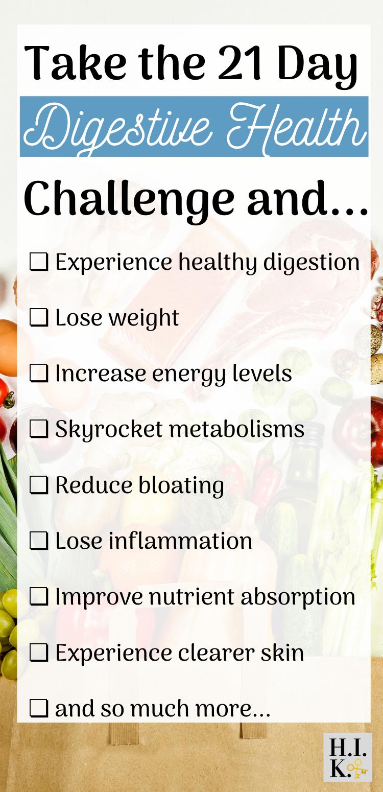 Gut health challenge