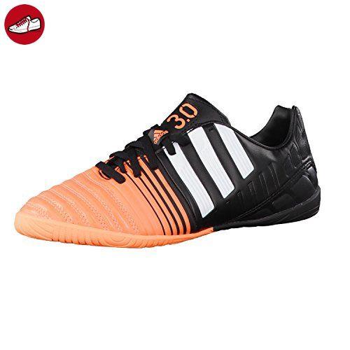 adidas Fussballschuhe Nitrocharge 3.0 IN J 32 core black/ftwr white/flash  orange s15