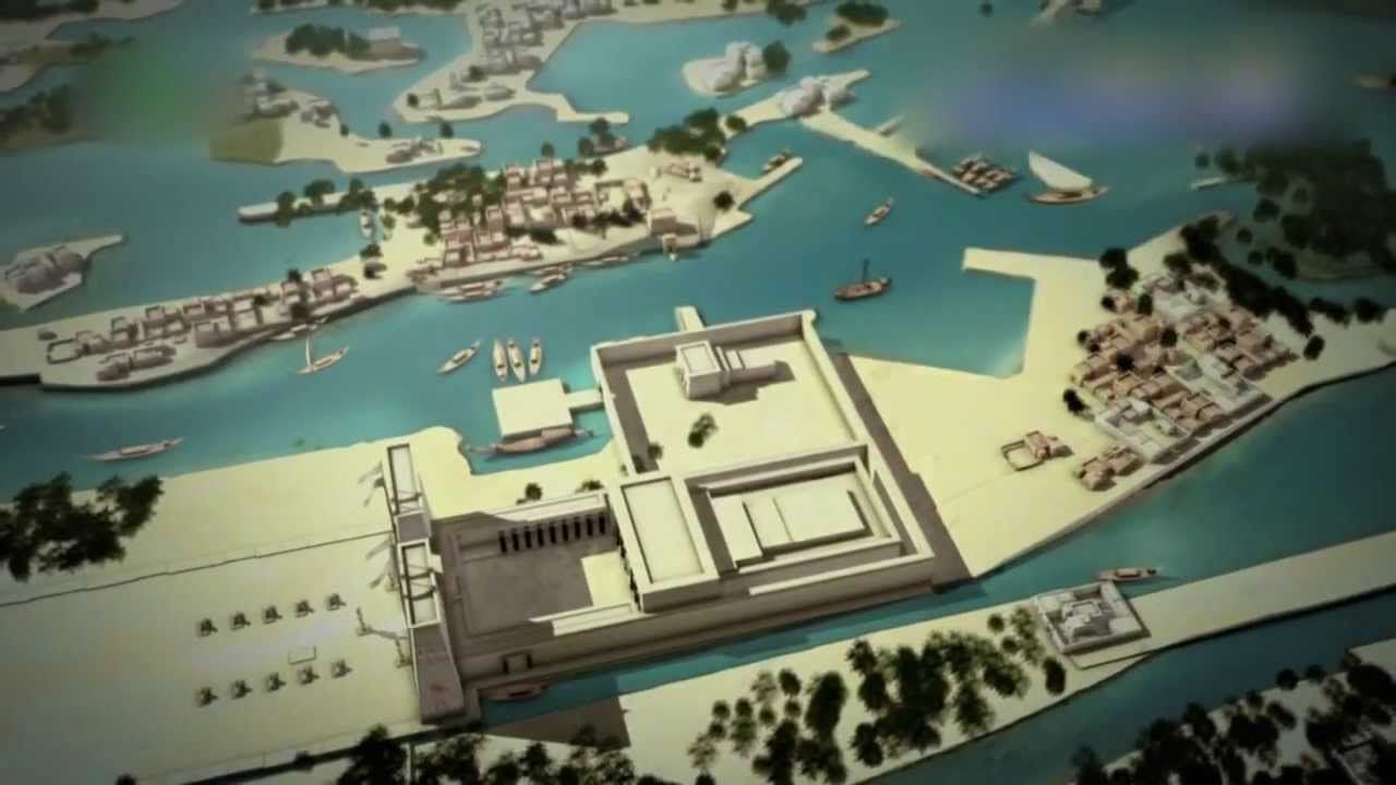 Fascinating Video Sunken Ancient Egyptian City Discovered