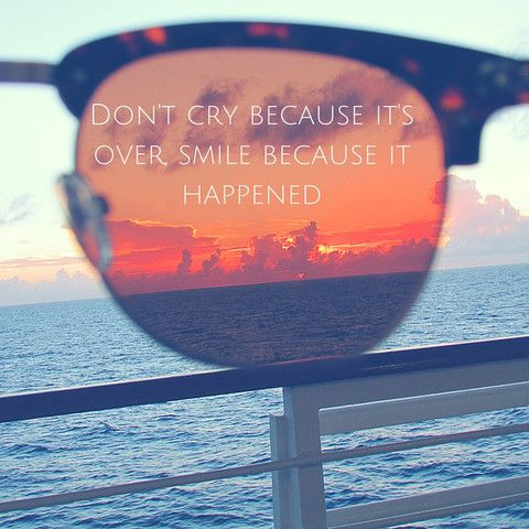Don't cry because it's over – Faded Days