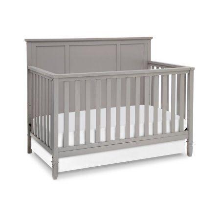 Children Epic 4-in-1 Convertible Crib Gray