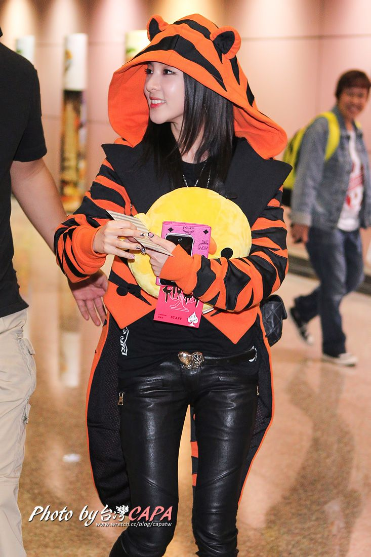 2ne1 dara airport fashion goddess dara pinterest