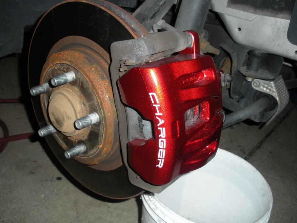 Painted My Brake Calipers Step By Step Dodge Charger Forums Brake Calipers Calipers Chrysler 300 Custom