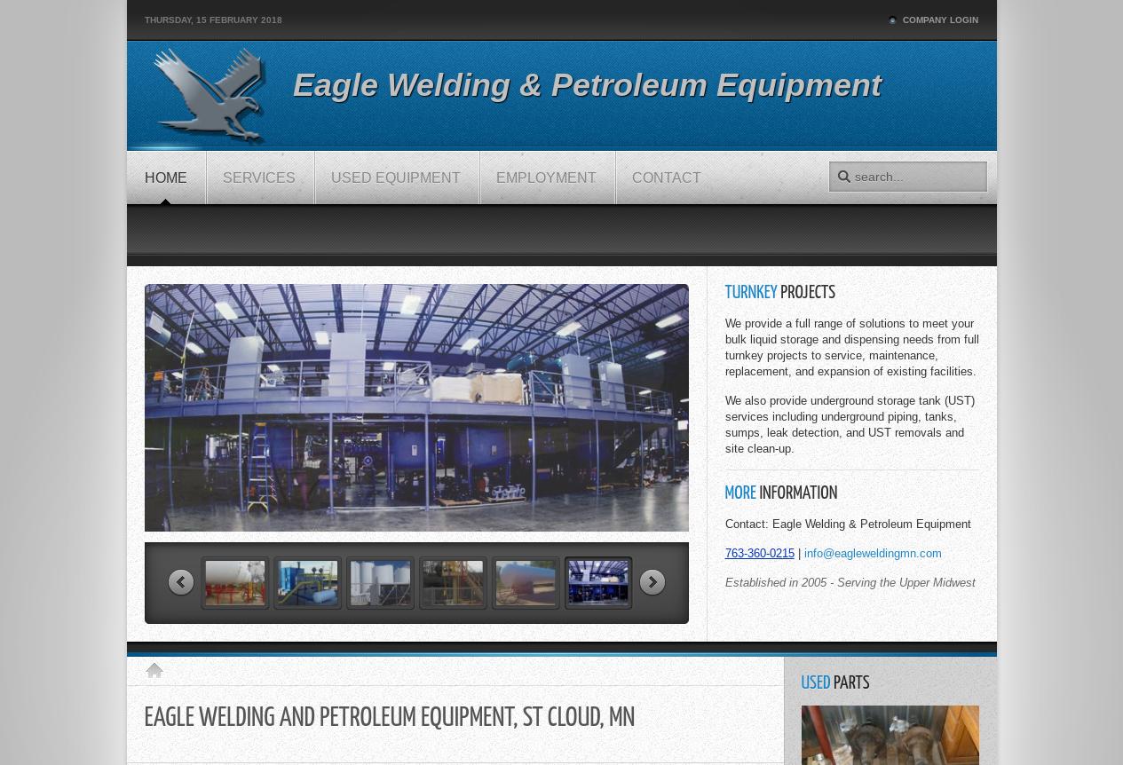 Turnkey Projects Eagle Welding Petroleum Equipment Web Design Projects Projects Design Projects
