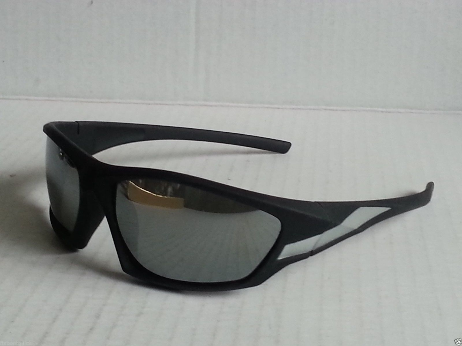 cdc53eface95c6  accessories Layer 8 sport sunglasses mirrored lenses black frame wrap  style (no tags)