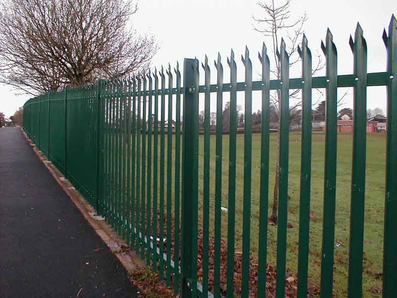 Security Fencing Palisade Fencing And Chain Link Fencing