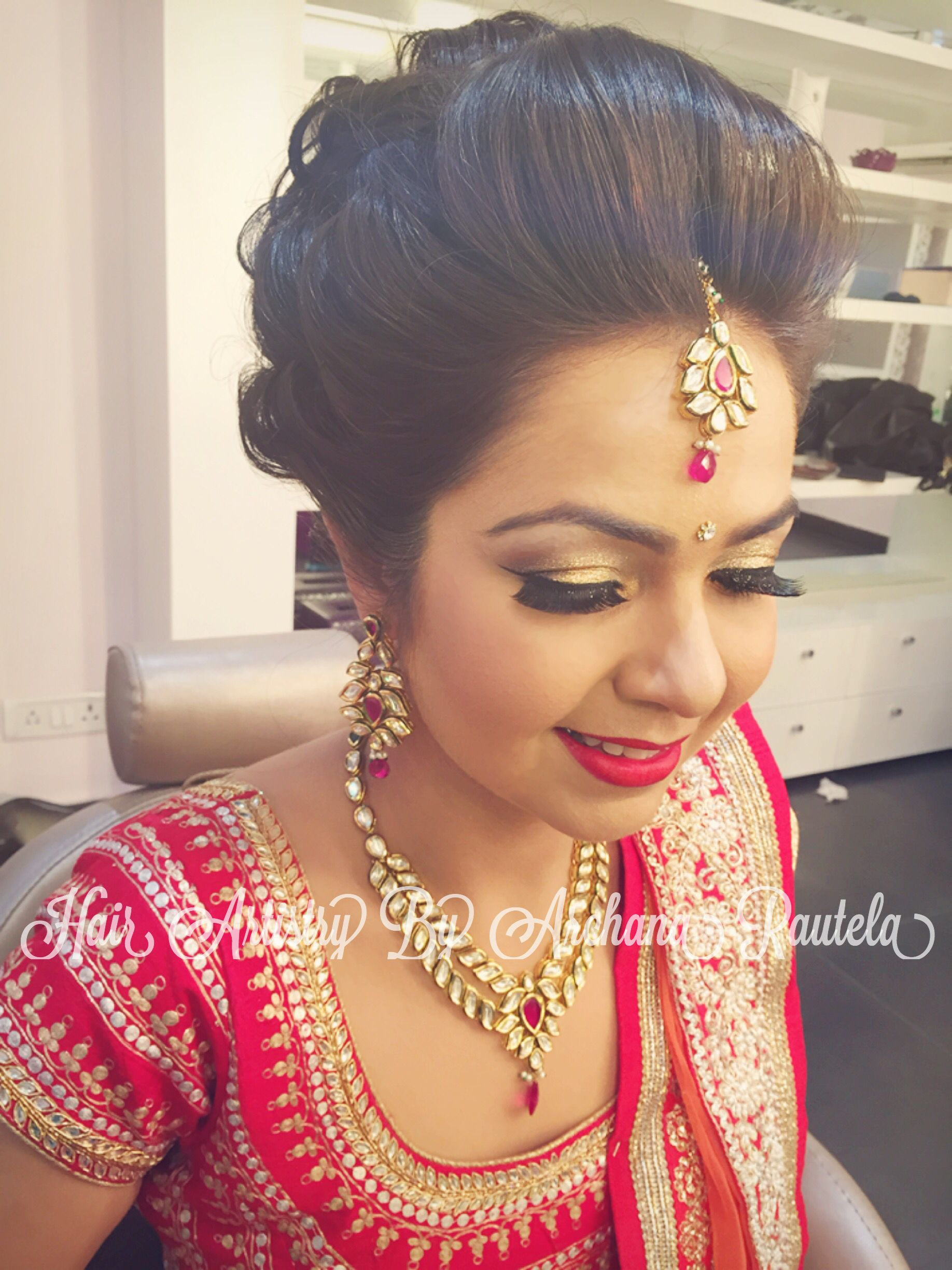 indian wedding hairstyle gallery%0A Indian Wedding Hair  Indian Weddings  Wedding Hairs  Hair Style
