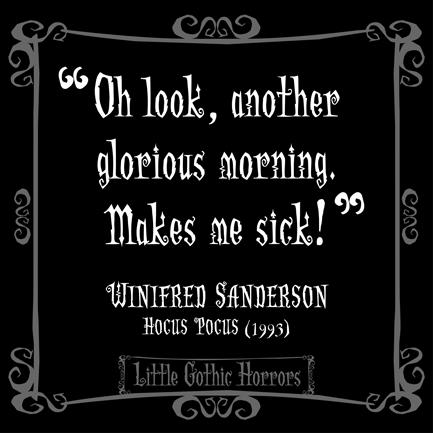 Little Gothic Horrors: Delightfully Dark Quotes. Halloween ...