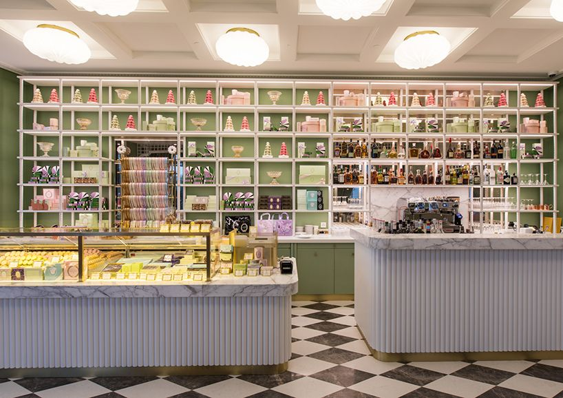 India Mahdavi Creates A Garden Of Delights For Laduree In Geneva