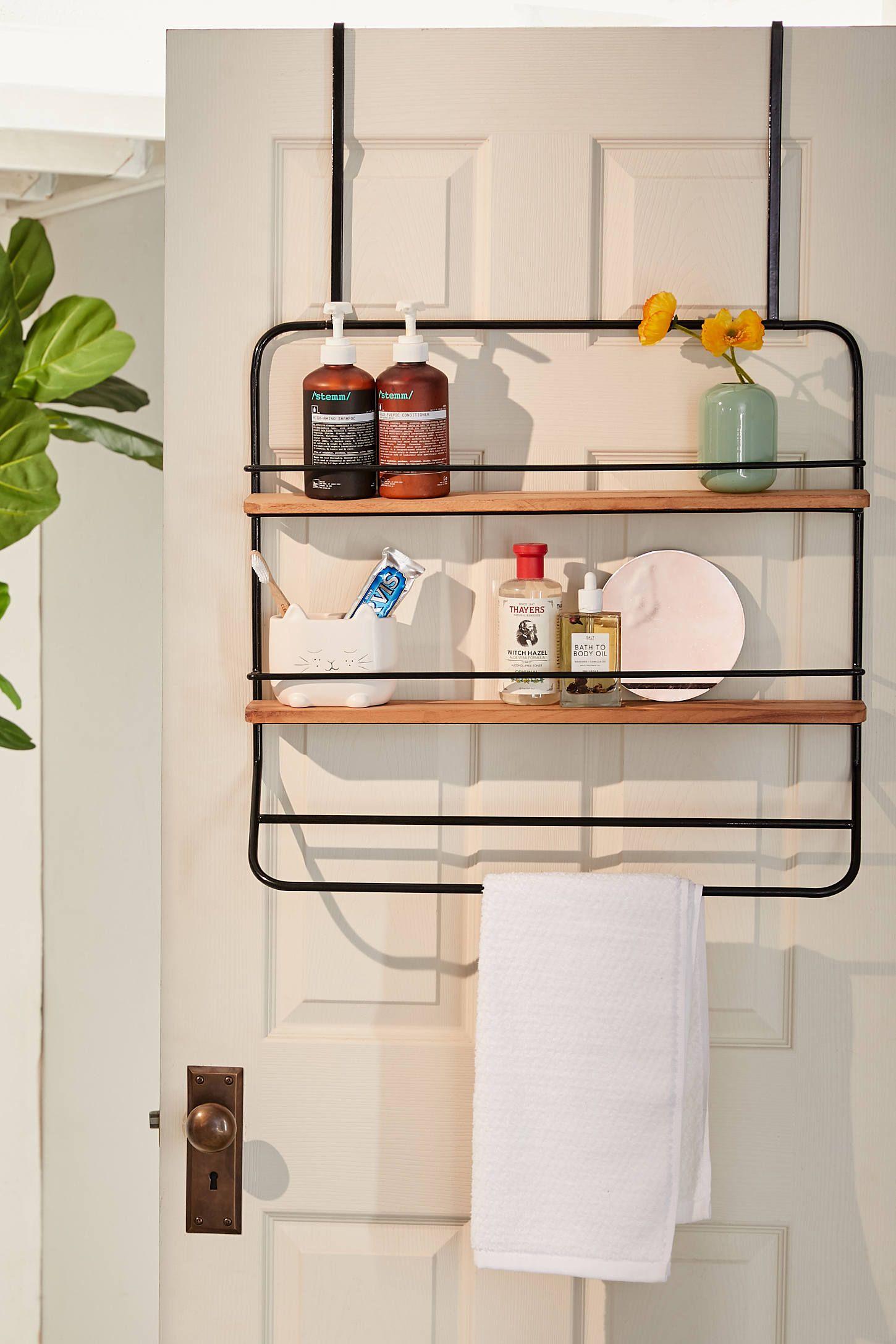 Over The Door Tiered Storage Rack In 2019 Things To Buy Bathroom