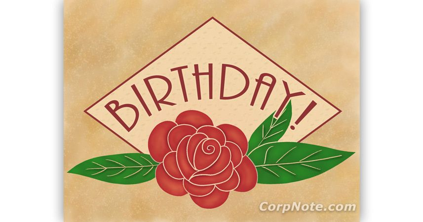 Just Set Up A Recurring Birthday ECard Campaign And Let CorpNote Automatically Send Your ECards