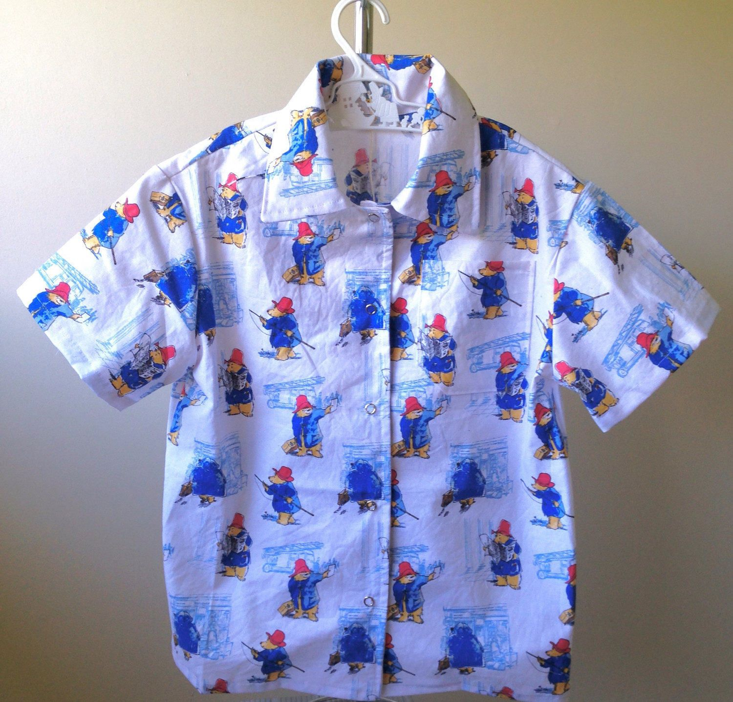 A personal favourite from my Etsy shop https://www.etsy.com/au/listing/503735630/winnie-the-pooh-short-sleeved-cotton