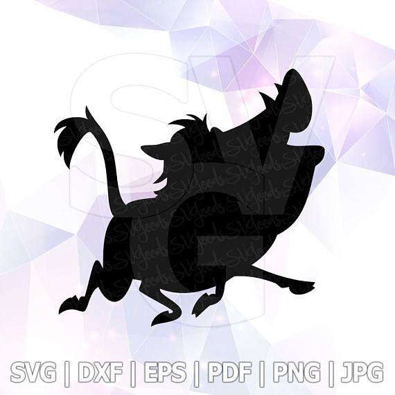 c3ecf60908b7a Pumba Hakuna Matata SVG DXF Eps Vector Disney Lion King Cut Files ...