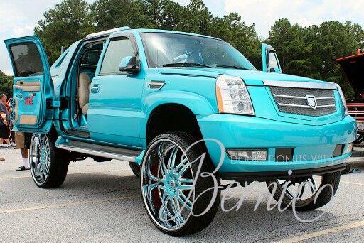Cadillac Escalade On 32 Inch Asanti Wheels Fullycustomized