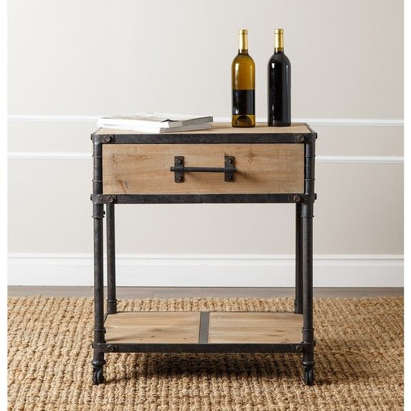 Best Deal Home Furniture: ABBYSON LIVING Northwood Industrial End Table