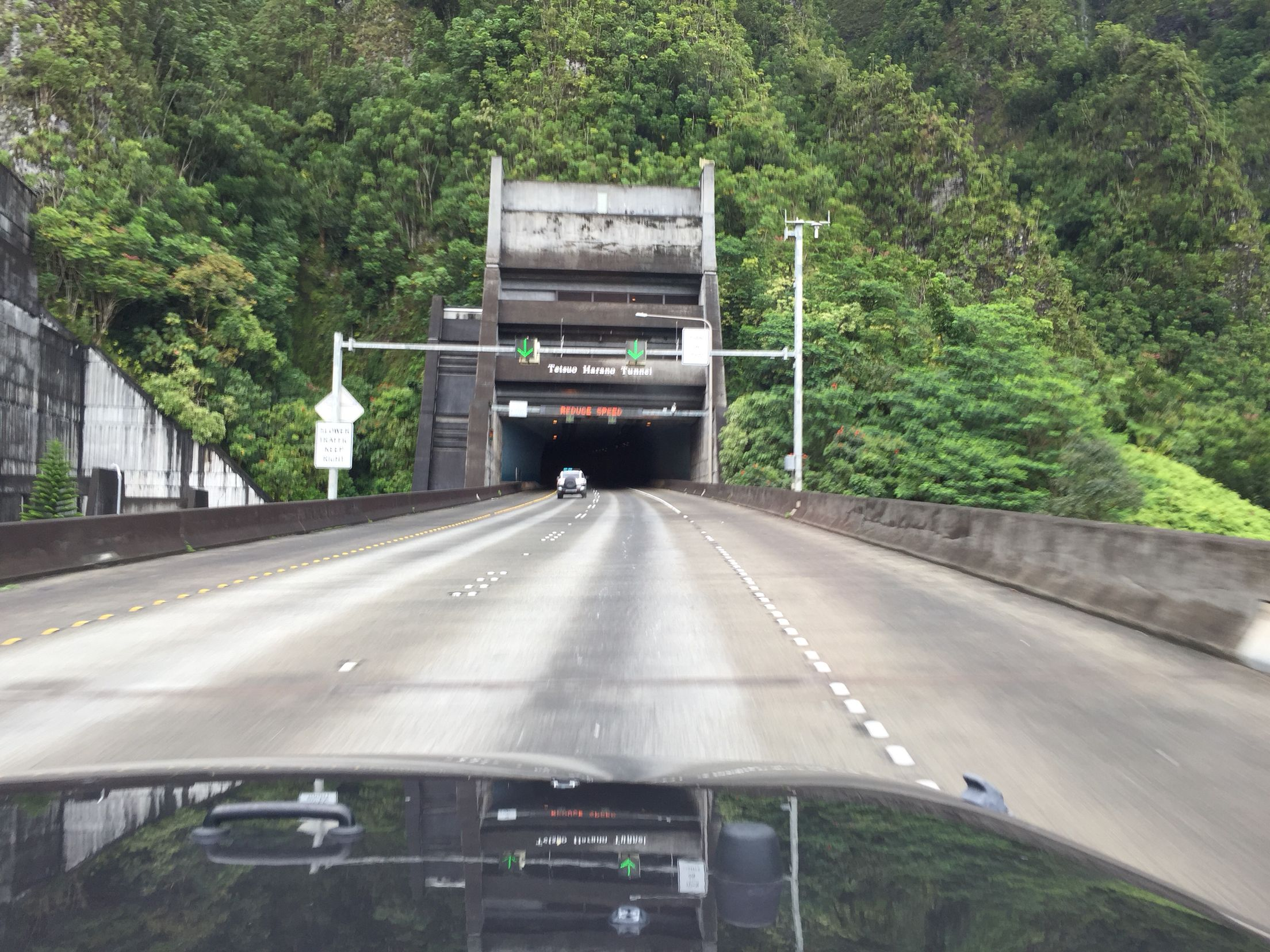 Kentucky Freeway Map%0A Tetsuo Harano tunnel driving on H  Oahu Hawaii
