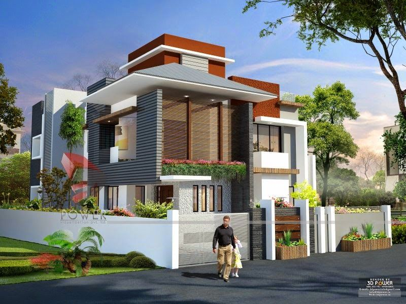 Ultra Modern Front Elevation Design Part - 44: We Are Expert In Designing Ultra Modern Home Designs