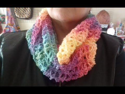 MARLY THIBES: GOLA BATIK CROCHE FACIL | croche | Pinterest