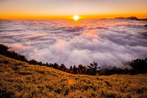 Sunset at Mt. Hehuan