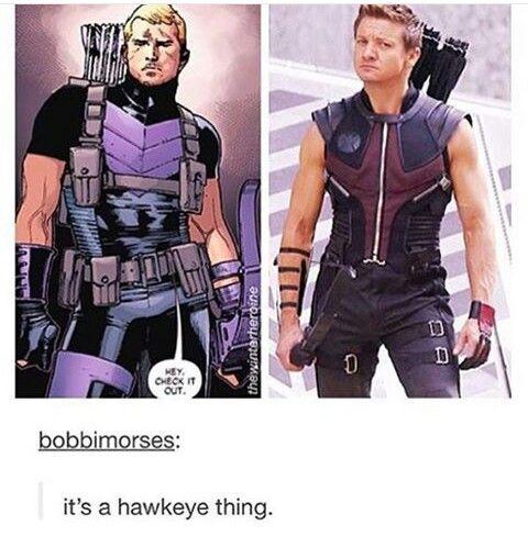 Hawkguy thing