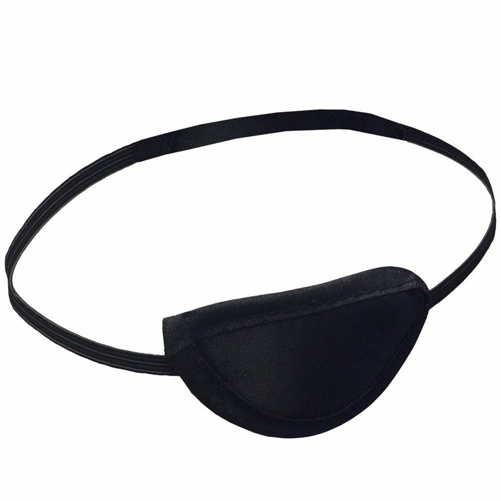 Adult Eye Patches Medical Foam Groove Washable Eyeshades