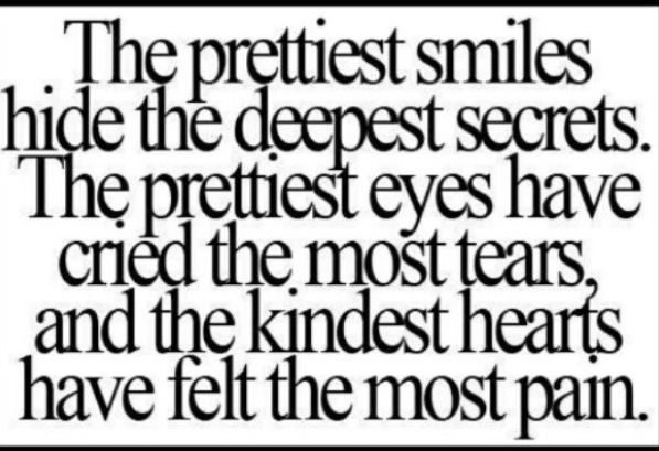 What S Behind A Smile Quote Inspirational Words Great Quotes Quotes