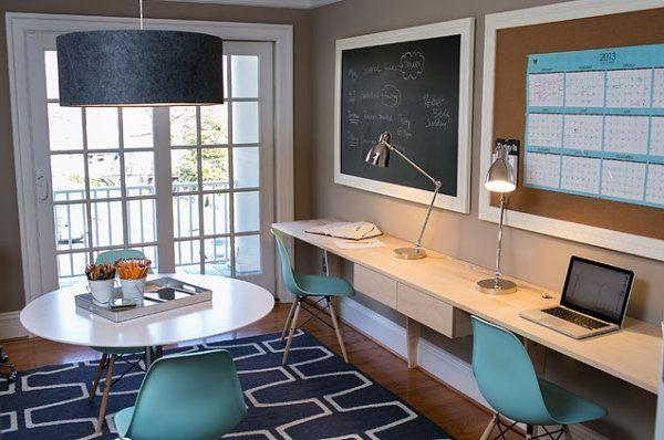 siebziger stil kreative kreative ideen für homeoffice einrichtung - homeoffice einrichtung ideen interieur