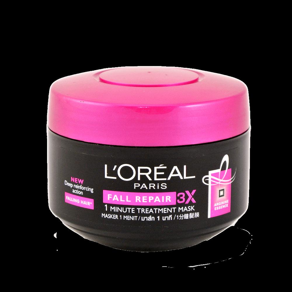 Loreal Paris Fall Repair 1 Minute Treatment Mask 200ml L Oreal Total Repair5 Hair