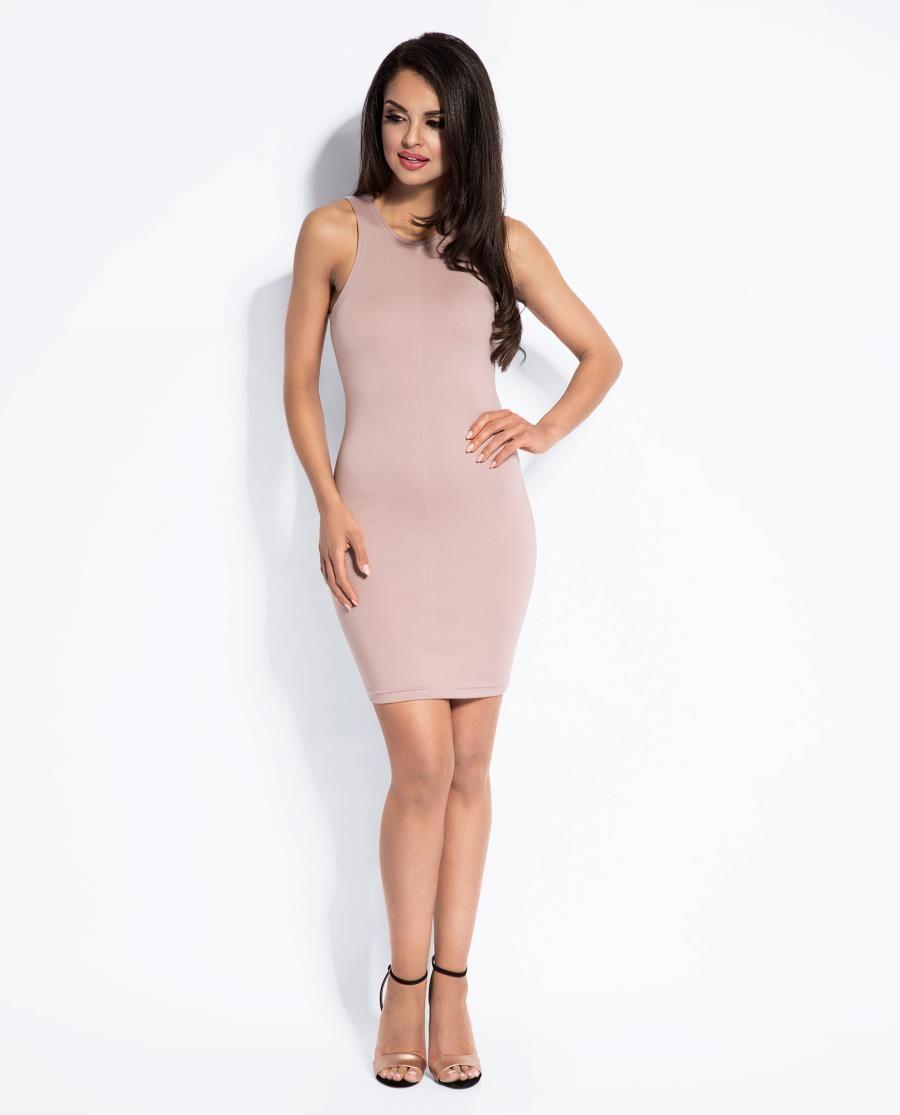 dafbe89b Dopasowana Sukienka Sisi Pudrowy Róż w 2019 | Sukienka, Sukienki ...