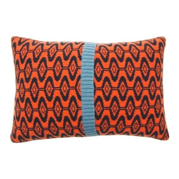ellipse cushion, howkapow.  Love this!
