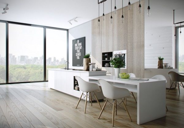 20 sleek kitchen designs with a beautiful simplicity 12