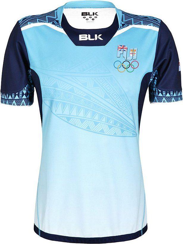 bdb13ade05 BLK lança uniformes de rugby de Fiji para Rio 2016 - Show de Camisas ...
